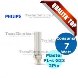 Lampada al Neon PL-s 7W 2P Master Philips