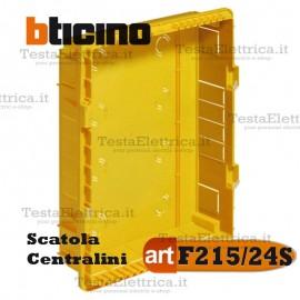 Scatola F215/24S da incasso per centralini 24 moduli Bticino