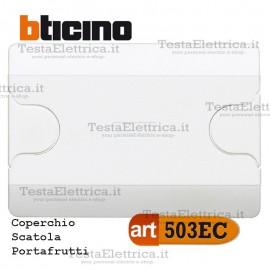 Coperchio per Scatola portafrutti art. 503e Bticino