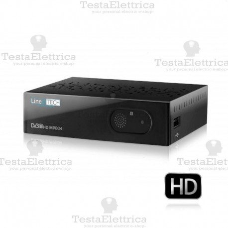 Decoder Digitale Terrestre HD Indiana line@tech