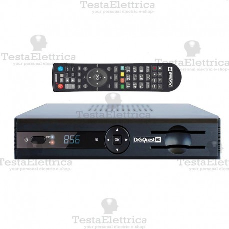 Decoder Combo card reader FULL HD Webapp PVR Evo 3.1 DigiQuest