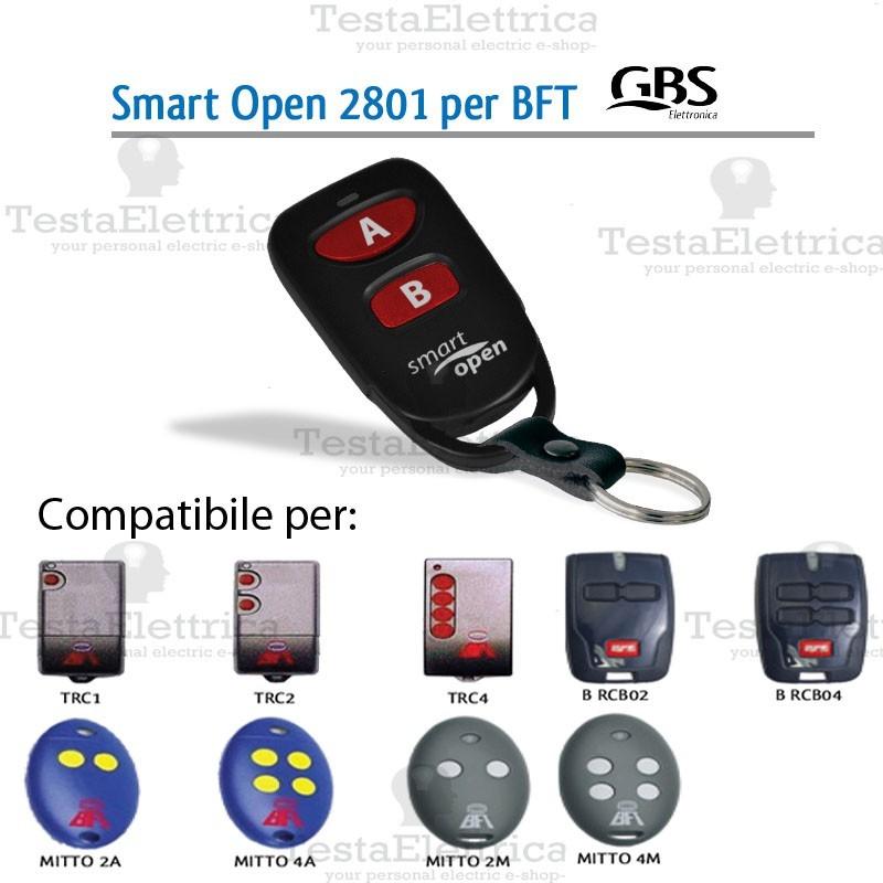 Telecomando Universale Cancelli Compatibile Bft 2801 Gbs Jollyline