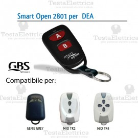 Telecomando compatibile Bft Smart Open 2801 Gbs