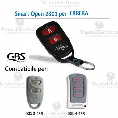 Telecomando compatibile Doorhan Smart Open 2801 Gbs