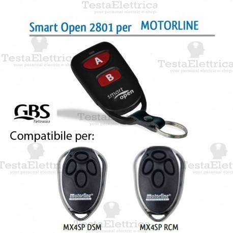 Telecomando compatibile Key Smart Open 2801 Gbs