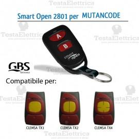Telecomando compatibile Motorline Smart Open 2801 Gbs
