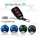 Telecomando compatibile Nice Smart Open 2801 Gbs