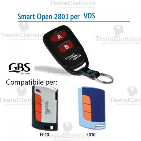 Telecomando compatibile SKYMASTERS mart Open 2801 Gbs