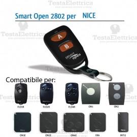 Telecomando compatibile NICE smart Open 2802 Gbs