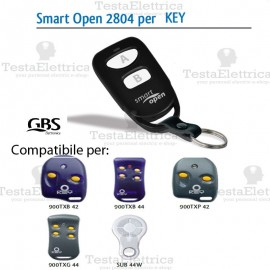 Telecomando compatibile KEY smart Open 2804 Gbs