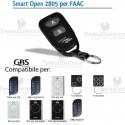 Telecomando compatibile FAAC smart Open 2805 Gbs