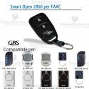 Telecomando compatibile FAAC  smart Open 2806 Gbs