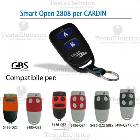 Telecomando compatibile Cardin smart Open 2807 Gbs