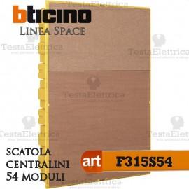 Scatola F315S54 incasso per centralini 36 moduli linea Space Bticino