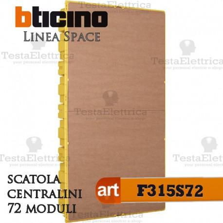 Cassetta f315s72 quadro elettrico incasso per centralini for Quadro esterno 72 moduli