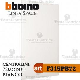 Centralino serie Space  Bianco F315PB72 72 moduli din per cassette incasso Bticino