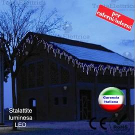 Stallattite luminosa a Led natalizia 3 metri RosaChristmas
