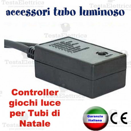 Controller giochi luce per Tubo Luminoso max 10 metri RosaChristmas