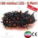 Serie da 180 minilucciole LED Multicolore esterno/interno  RosaChristmas