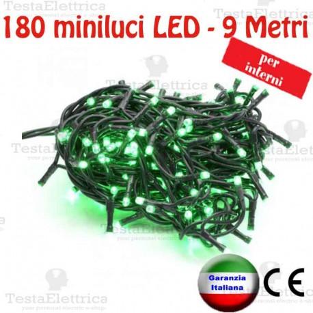 Serie da 180 minilucciole LED Rosso interno  RosaChristmas