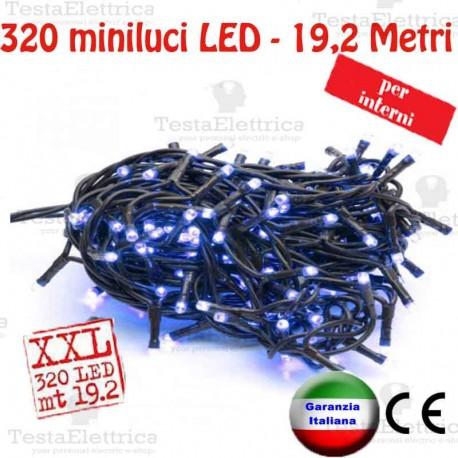 Serie da 320 minilucciole LED Verde interno  RosaChristmas