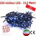 Serie da 320 minilucciole LED Blu interno  RosaChristmas
