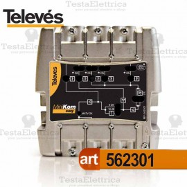 Centralino TV 5I / 1U 562301 Televes