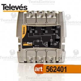 Centralino TV 4I / 1U 562401 Televes