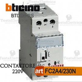 Contattore 40A  220V Bticino