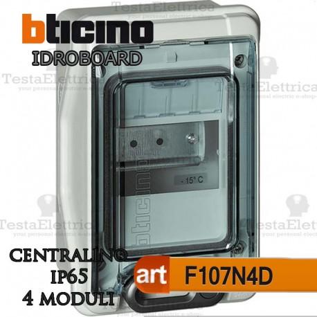 Centralino IP65 4 moduli serie IDROBOARD Bticino