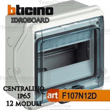 Centralino IP65 12 moduli serie IDROBOARD Bticino