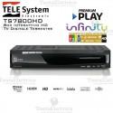 Decoder Digitale terrestre card reader FULL HD TS7800HD Telesystem