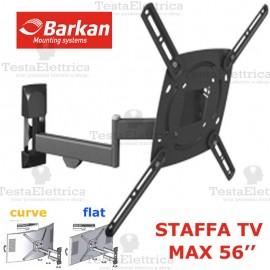 Staffa per TV curve max 56 Pollici Barkan