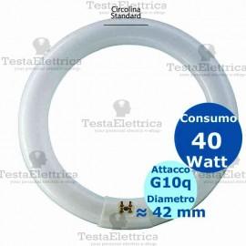 Circolina al neon 40 watt 41cm T8 Standard Trifosforo Leuci