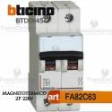 Interruttore magnetotermico C63A  220V Bticino