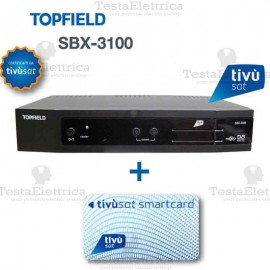 Decoder Humax TIVUSAT HD 6800 + Scheda Gold Inclusa