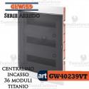 Centralino 36 moduli  per quadri elettrici incasso  Arredo Gewiss