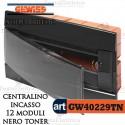 Centralino 12 moduli  per quadri elettrici incasso  Arredo Gewiss