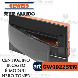 Centralino 8 moduli per quadri elettrici incasso Arredo Gewiss