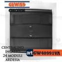 Centralino 24 moduli  per quadri elettrici incasso Chorus Gewiss