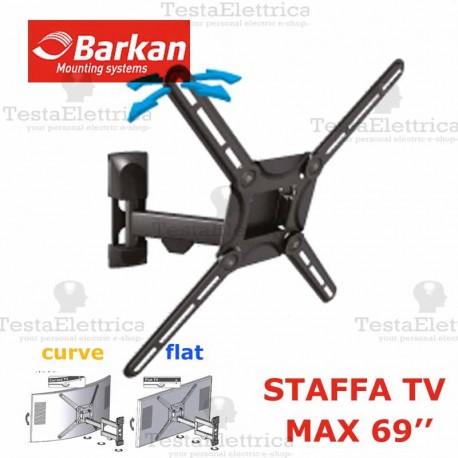Staffa per TV curve max 69 Pollici Barkan