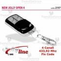 Telecomando universale programmabile Open 433 4 CH Gbs