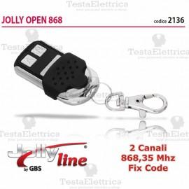 Telecomando universale programmabile Open 868 2 CH Gbs