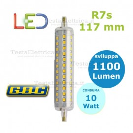 Lampada Led R7s 117 mm 10 W GBC
