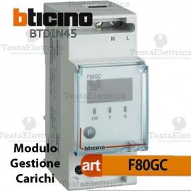Modulo per gestione carichi Bticino F80GC