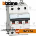 Interruttore magnetotermico 3P C16A  380V Bticino