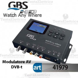 Modulatore AV DVB-T  HD Watch Any Where PLUS GBS