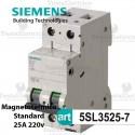 Interruttore magnetotermico C25A  220V Siemens