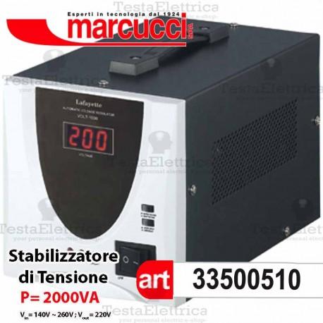 Stabilizzatore di Tensione 2000VA Marcucci