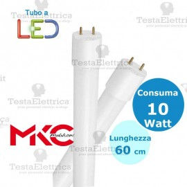 Tubo a led 60 cm 10 watt Led Melchioni